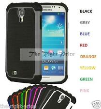 SAMSUNG GALAXY S4 I9500 SHOCK PROOF SILICONE/GEL/RUBBER CASE COVER FOR SCRATCH..