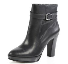 Arturo Chiang Women's Primo Black Leather Ankle Boot