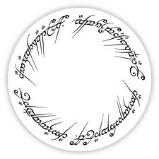 LORD of the RINGS Vinyl Sticker Decal *3 SIZES* Elvish LOTR Bumper Wall One