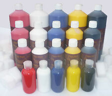 All Shades Leather Colourant for repairs & restorations Pigment Stain Paint Dye