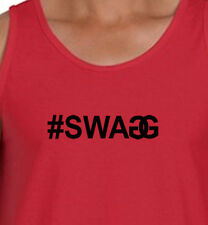 #SWAGG DJ Pauly Jersey Shore T-Shirt Men's swagg Tank American Apparel Tanktop