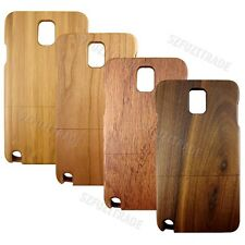 Real Bamboo Wood Hard Back Case Cover Skin Shell For Samsung Galaxy Note 3 N9000
