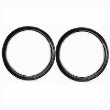 700C Full Carbon Bike Wheels 50mm Wheelset Light Bicycle Tubular Rims