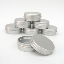 Mini Lip Balm Pots10ml Small Lip Gloss Tins Pot Jar Cosmetic Nail Art BULK