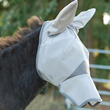 CASHEL STANDARD FLY MASK MULE DONKEY LONG NOSE & EARS ALL SIZES HORSE TACK