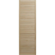 Wooden louvre doors. Clear pine - knot free!!!