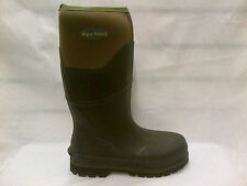 Mens Wyre Valley Knee High Waterproof Neoprene Lined Muck Welly Boots, Trent