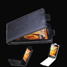 """For 4.5"""" Lenovo A760 Smart Phone Flip Case PU leather Protective Cover New"""