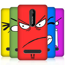 HEAD CASE EMOTICON KAWAII EDITION PROTECTIVE BACK CASE COVER FOR NOKIA ASHA 210