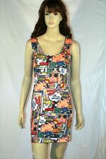 PLUS SIZE MULTI COLORED GRAPHIC DRESS LARGE XL