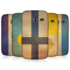 HEAD CASE VINTAGE FLAGS SET 2 BACK CASE COVER FOR SAMSUNG GALAXY Y DUOS S6102