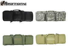 4Colors Military Tactical 85cm Dual AEG Rifle Carrying Case Bag Backpack Black