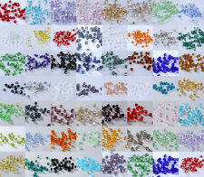 U Pick colors 100/1000pcs 3mm Glass Crystal #5301 Bicone beads Free Shipping