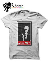 Did you miss me? Sherlock Holmes Moriarty t-shirt  **ALL SIZES**