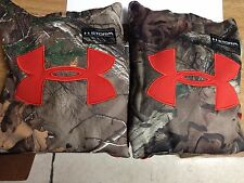 NWT Under Armour Youth Big Logo Camo Hoody Realtree Mossy Oak All Sizes 1220777