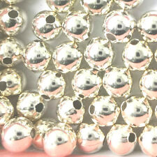 925 Sterling Silver Round Spacer Beads 2mm 3mm 4mm PK 50 PK100
