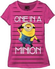 Despicable Me One in a Minion Juniors T-Shirt