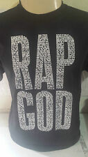 eminem rap god black T SHIRT  TEE  MMLP2 appers diamond obey THE MONSTER