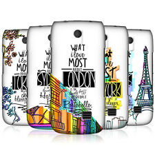 HEAD CASE CITY LOVE PROTECTIVE SNAP-ON HARD BACK CASE COVER FOR NOKIA ASHA 310