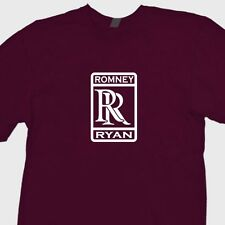 Romney Ryan 2012 Republican T-shirt Party campaign Tee Shirt