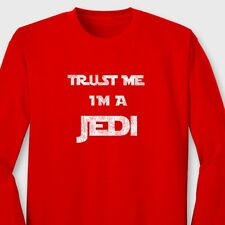 Trust Me Im A Jedi Funny Darth Vader T-shirt Star Wars Long Sleeve Tee