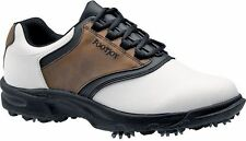 FOOTJOY GREENJOYS GOLF SHOES CLOSEOUT WHITE/BROWN 45516 MENS NEW