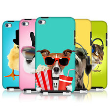 HEAD CASE FUNNY ANIMALS SNAP-ON BACK CASE COVER FOR APPLE iPOD TOUCH 4G 4TH GEN