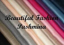 WHOLESALE JOB LOT 10 PASHMINA LADIES SHAWL SCARF WRAP NEW SELECT COLOUR CJ1032