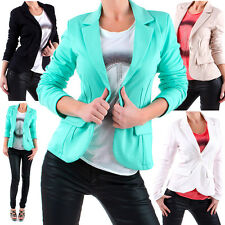 DAMEN BLAZER CASUAL FREIZEITBLAZER JACKE JACKET BUSINESS PARTY Bolero NEU J171