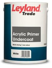 Leyland Acrylic Primer Undercoat White Paint 750 ml / 2.5 litres / 5 litres