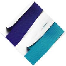 """Grosgrain Ribbon 9mm 3/8"""" w by  5 Meters All Blue #331-374 for cake"""