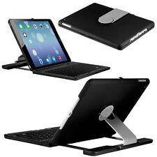 Rotating ClamShell Keyboard Laptop-like Case for the iPad 4th Gen with Retina