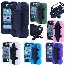Durable Dirt/Shock/water Proof Case Cover+Belt Clip Holster for iPhone 4/4S HOT!