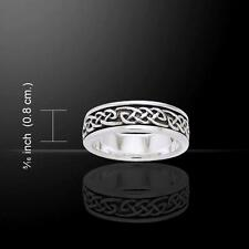 Celtic Trinity Knot Ring TRI770 Size Selectable