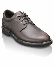 Rockport Mens Fashion Footwear Lace Up Shoes K71052 Charlesview Chocolate