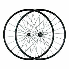 Carbon Fiber Road Bike Wheelset 24mm 3K Tubular Rim Shimano/Sram 9/10/11 Speed