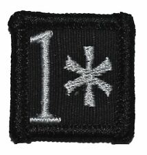 """1* One Ass to Risk - 1""""x1"""" w/ Hook Fastener Military Police Morale Patch"""