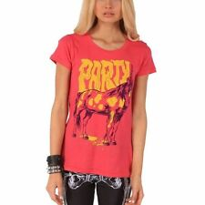 IRON FIST T SHIRT PARTICORN PINK  LADIES TEE