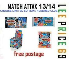 MATCH ATTAX EXTRA 13/14 CHOOSE FROM LIMITED EDITION / 100 / HUNDRED CLUB