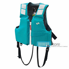 BLUESTORM Buoyancy Aid Adult Life Jacket PFD Boating Fishing Outdoor Turquoise
