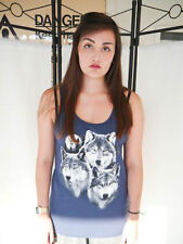 Wildlife Wolves Vest Top, Vests, Tank Top,Sleeveless, Wolf Top, Wolf, Unisex,New