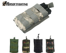 5Colors Military Tactical Open Top Molle MPS AEG Single Magazine Pouch Bag ACU A