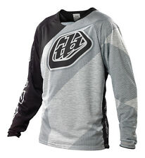 NEW 2014 TROY LEE DESIGNS SPRINT TURISMO MTB DH BMX JERSEY BLACK/WHITE ALL SIZES