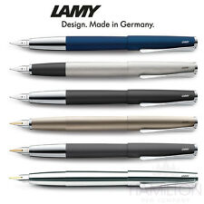 LAMY STUDIO FOUNTAIN PEN - Choice of finishes and nib sizes