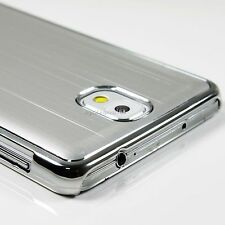 Aluminum Metal Case Cover Chrome Edge For Samsung Galaxy Note 3 III N9000 +Film