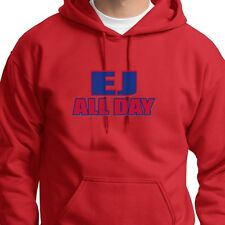 EJ ALL DAY New Yorks Buffalo Bills Tee jersey E.J. Manuel 3 Hoodie Sweatshirt