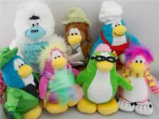 Disney Club Penguin Many Kinds Of Colors Penguin Plush Toy FREE SHIPPING NO COIN