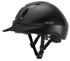 TROXEL SPIRIT ENGLISH AND WESTERN ALL PURPOSE RIDING HELMET BLACK HORSE TACK