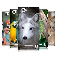 HEAD CASE DESIGNS FAMOUS ANIMALS BACK CASE FOR SONY XPERIA M C1905 C1904