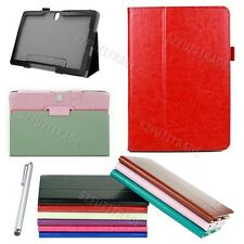 Horse Stand Leather Case Cover For Samsung Galaxy Note 10.1 2014 Edition P600